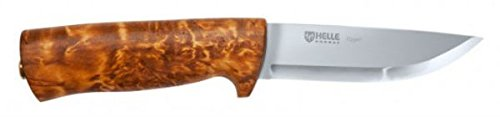 Helle Eggen Knife w/Leather Case – Hand Made in Norway