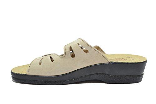 Fly Flot - Zapatillas de estar por casa para mujer beige beige