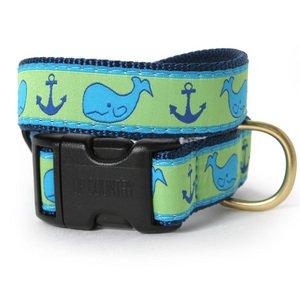 Whale Dog Collar-XS(5/8)-