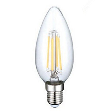 Bombilla LED E14 3,5 W 4 x cob 400 lm 2800 - 3200 K blanca cálida ...