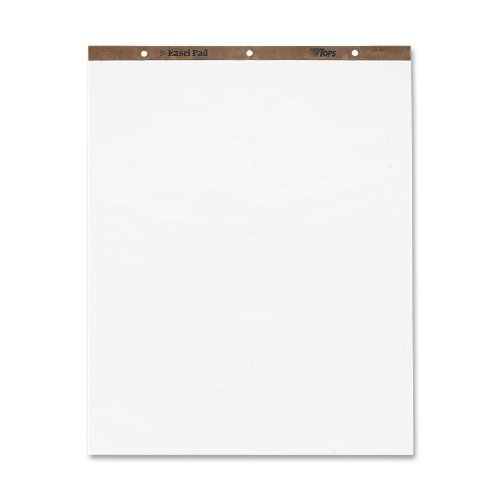 TOPS Easel Pad, 27 x 35 Inch, 3-Hole Punched, 50 Sheets, White (79011) (Limited Edition)