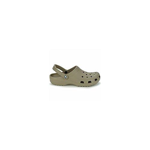 crocs Unisex-Erwachsene Classic Clogs Khaki