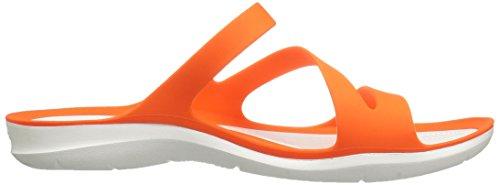 Sandalo Rapido Da Donna, Crocs, Arancio Attivo