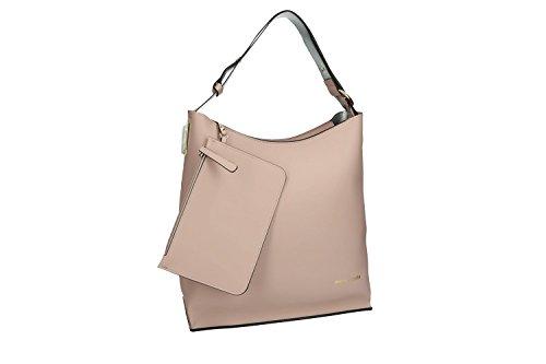 Tasche damen schulter PIERRE CARDIN pink ffnung zip VN1185
