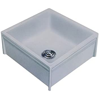 Swanstone MS 2424 3 24 Inch By 24 Inch Mop Service Sink