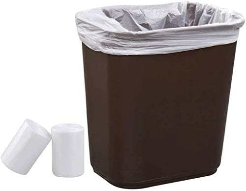 2 6 Gallon 240 Clear Small Trash Bags Bathroom Garbage Bags 10 Liter Plastic Wastebasket Trash Can Liners For Home And Office Bins 240 Count Pricepulse