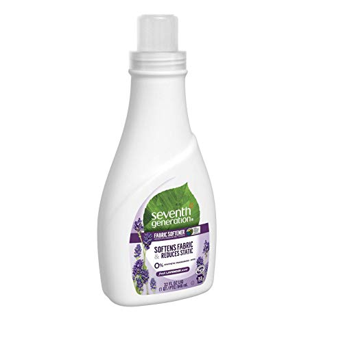 Seventh Generation Fabric Softener, Lavender, 32 Ounces