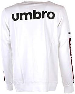 Umbro 19ITPU0362 Sweat-shirt pour homme, blanc