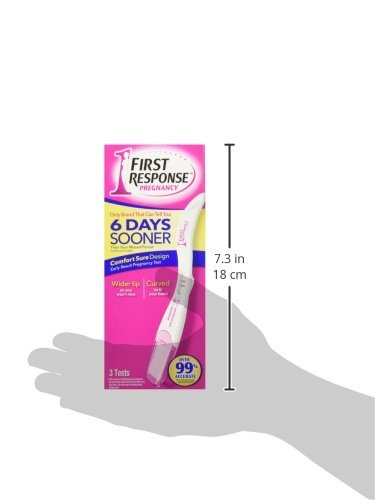 Large Product Image of First Response Early Result Pregnancy Test, 3 Count (Packaging & Test Design May Vary)