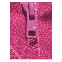 """28\"""" Vislon Zipper ~ YKK #5 Molded Plastic ~ Separating - 817 Cerise (1 Zipper/ Pack)"""