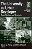 The University as Urban Developer, , 0765616416