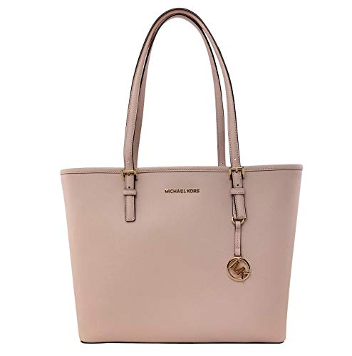 MICHAEL Michael Kors Jet Set Travel Medium Carryall Tote Saffiano Leather - Ballet -