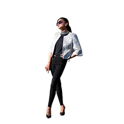 51groups SP-68 Magic Pants Women's Designer Stretchy Leggings (Black) Full-Length, Tapered