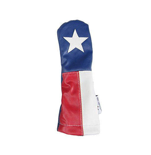 - Sunfish Leather Hybrid Golf Headcover Texas Lone Star