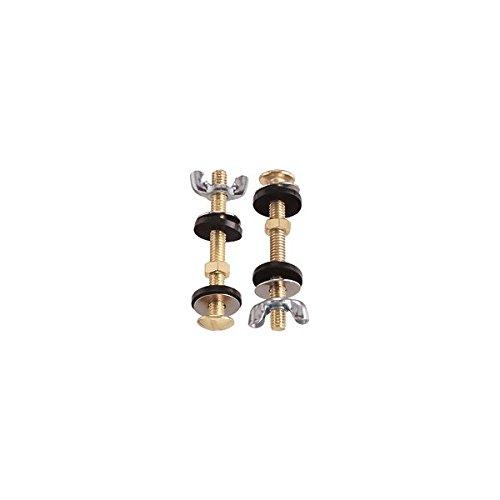 PLUMB PAK PP835-18 STL TOILET BOLT5/16X3 Pack of 6 by Plumb Pak