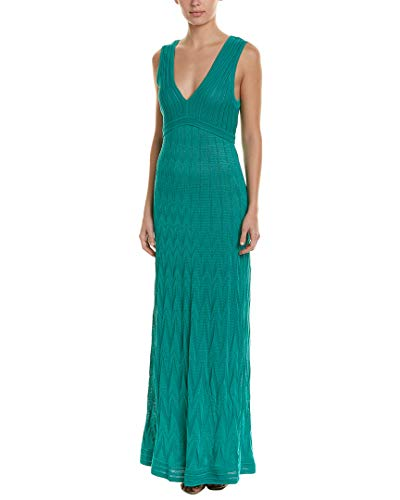 M Missoni Womens Maxi Dress, 42, Green for sale  Delivered anywhere in USA