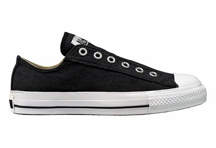 Converse Chuck Taylor All Star Slip, Black, Men's 3.5, Women's 5.5 Medium