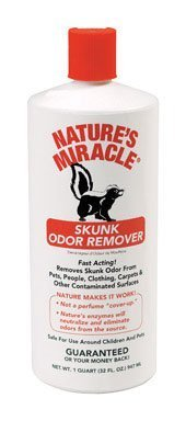 Nature'S Miracle Skunk Odor Remover 32 Oz