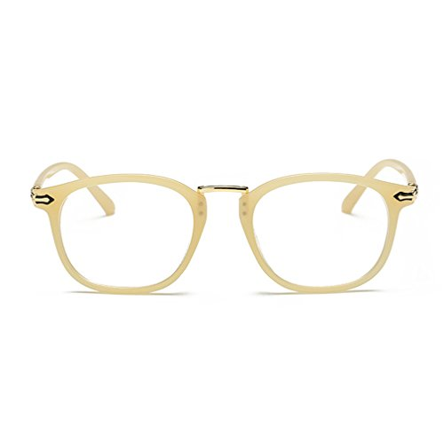 G&T Unisex Artistic Spectacle Frame Transform Myopia Lens Clear Lens Glasses(C3) (Where Can I Buy Cat Eye Contacts)