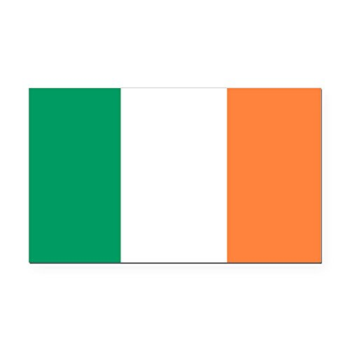 CafePress - Irish Flag - Rectangle Car ()