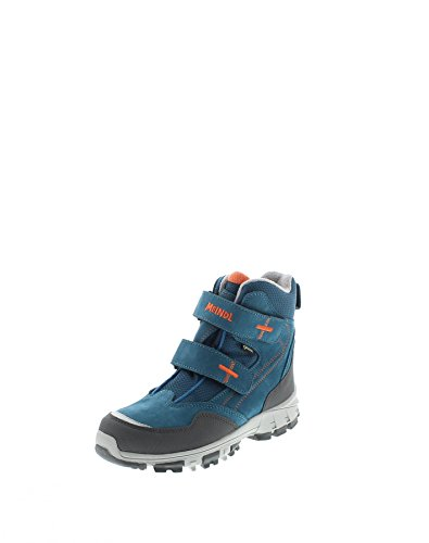 Meindl 7735-53 Polar Fox Junior GTX Petrol/Orange/ Kinder Winterstiefel Blau/ Winter/ Activity Blau