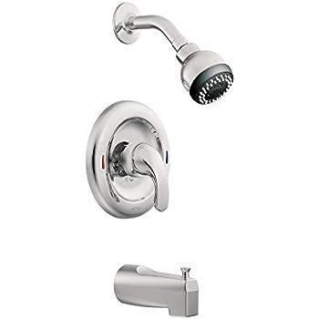 Moen L82694 Adler Tub and Shower Trim, Chrome - Bathtub