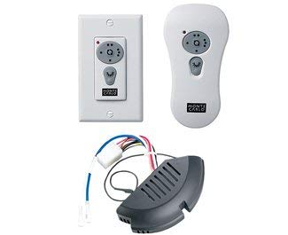 - Monte Carlo CK300 Traditional Reversible Wall-Hand-held Combo Remote Control Kits Collection in White Finish, See Image