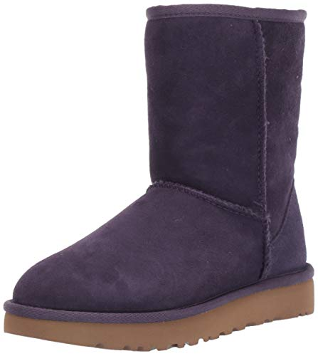 UGG Women's Classic Short II Fashion Boot, Nightshade, 8 M US (Ugg Short Boots Purple)