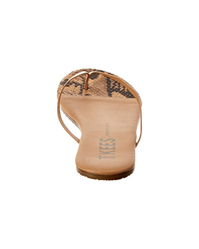 Tkees French Tips Flip Flop, 8, Marrón
