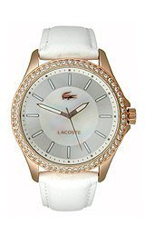 Lacoste Sofia Leather - White Women's watch #2000768 by Lacoste