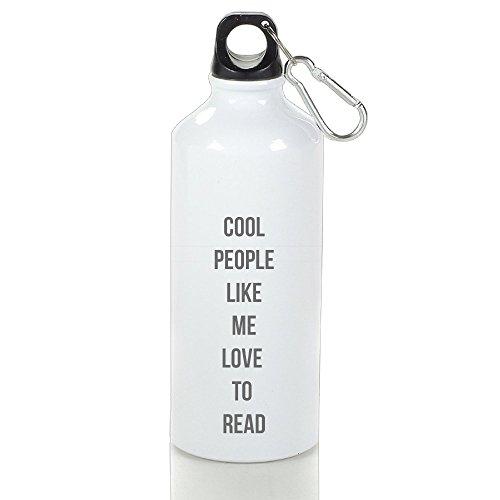 Bast Cool People Like Me Aluminum Travel Sports Gym Beach Water Bottle Loop Cap - Reddit Sunglasses