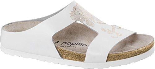 Papillio Charlize - Mules para mujer WHITE/ROSEGOLD