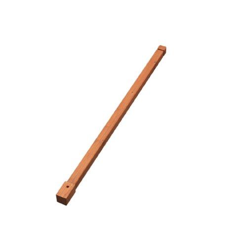 アイリスオーヤマ ラティス パーツ ポスト NLP-1380B ブラウン 高さ138cm 4本セット B00IZUK2PK