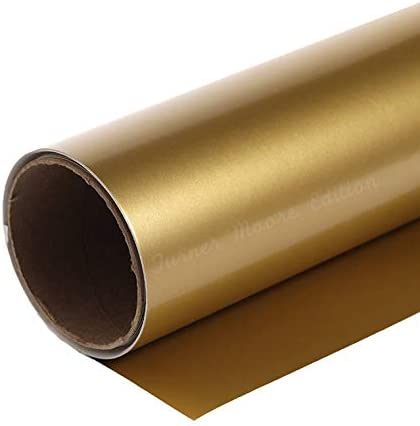 Gold Adhesive Vinyl Roll Silhouette product image