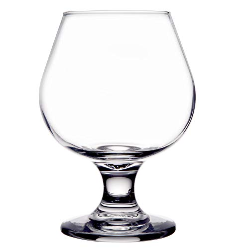 - Set of 6 Embassy 9 oz Brandy / Snifter Glass Libbey 3704 w/Signature Cocktail Picks