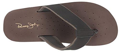 Panama Jack Mens Casual Sandal Flip Flops Brown WqHcOsb
