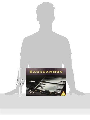 Piatnik 634581 tama/ño peque/ño Backgammon en malet/ín