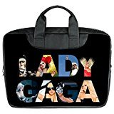 JOJO custom laptop bag Lady Gaga Logo Fashion computer handbags for 15.6 inch messenger bag office easy carry