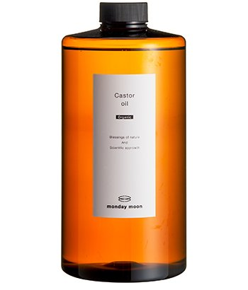 ●ひまし油未精製オーガニック(キャスターオイル)/1000ml   B011MW91NQ