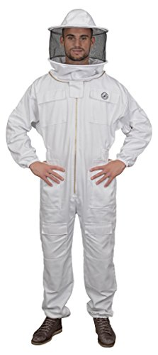 Humble Bee 410-XS Polycotton Beekeeping Suit with Round Veil (X Small) by Humble Bee