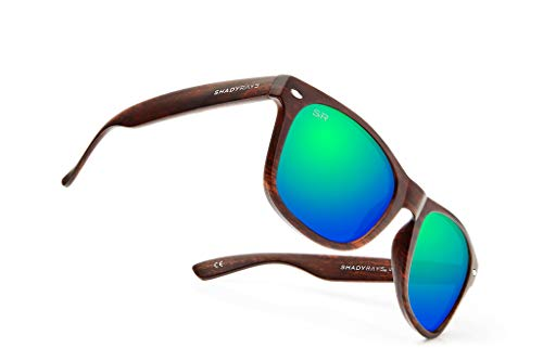 Shady Rays Classic Series Polarized Sunglasses Emerald Timber