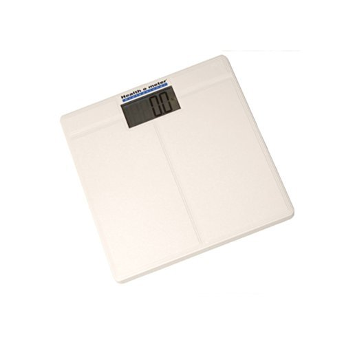 Health o meter 800KL Digital Bathroom Weight Scale with 1.5 in. LCD, 390 lb x 0.2 lb by Health o Meter