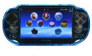 COSMOS ® Light Blue protection hard case cover for Playstation PS VITA 1000, Fits for Oval Start & Select button only