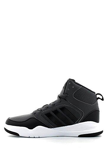 adidas Cloudfoam Rewind Mid, Chaussures de Basketball Homme, Gris (Grpudg/Grpuch/Negbas), 44 EU