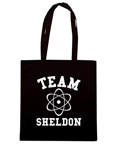 Speed Shirt Borsa Shopper Nera OLDENG00676 TEAM SHELDON