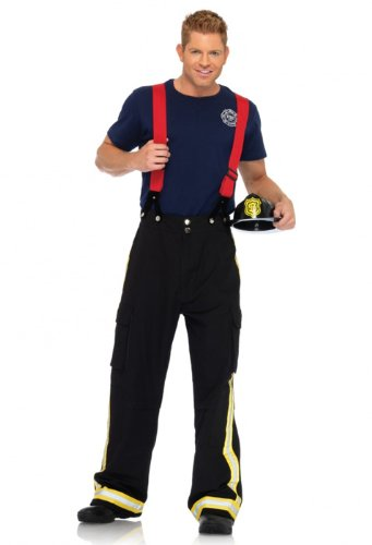 Mens Fire Captain Costume - M/L for $<!--Too low to display-->