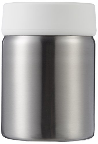 AmazonBasics Stainless Steel Toothbrush Holder - White