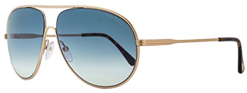 Tom Ford Sunglasses TF 450 Cliff 28P Gold and Havana - Aviators Ford Tom