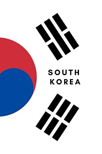 South Korea: Country Flag A5 Notebook to write in with 120 pages ()