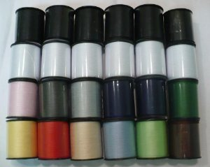 Basic Assortment - Polyester Sewing Thread Set - 24 Spools (200 Yards Each)